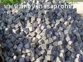 bazaltkocka, kockakő, 10x10cm bazalt kockakő,