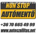 Autómentő 0-24 Autómentés Autószállítás